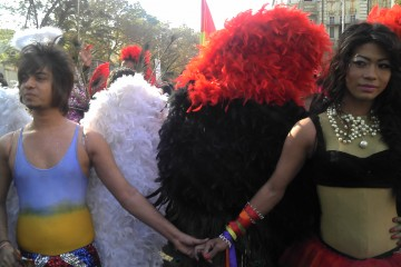 Gay Pride March Mumbai