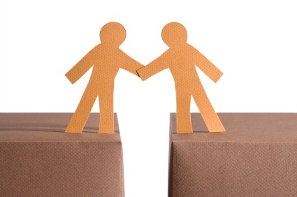 Holding hands together