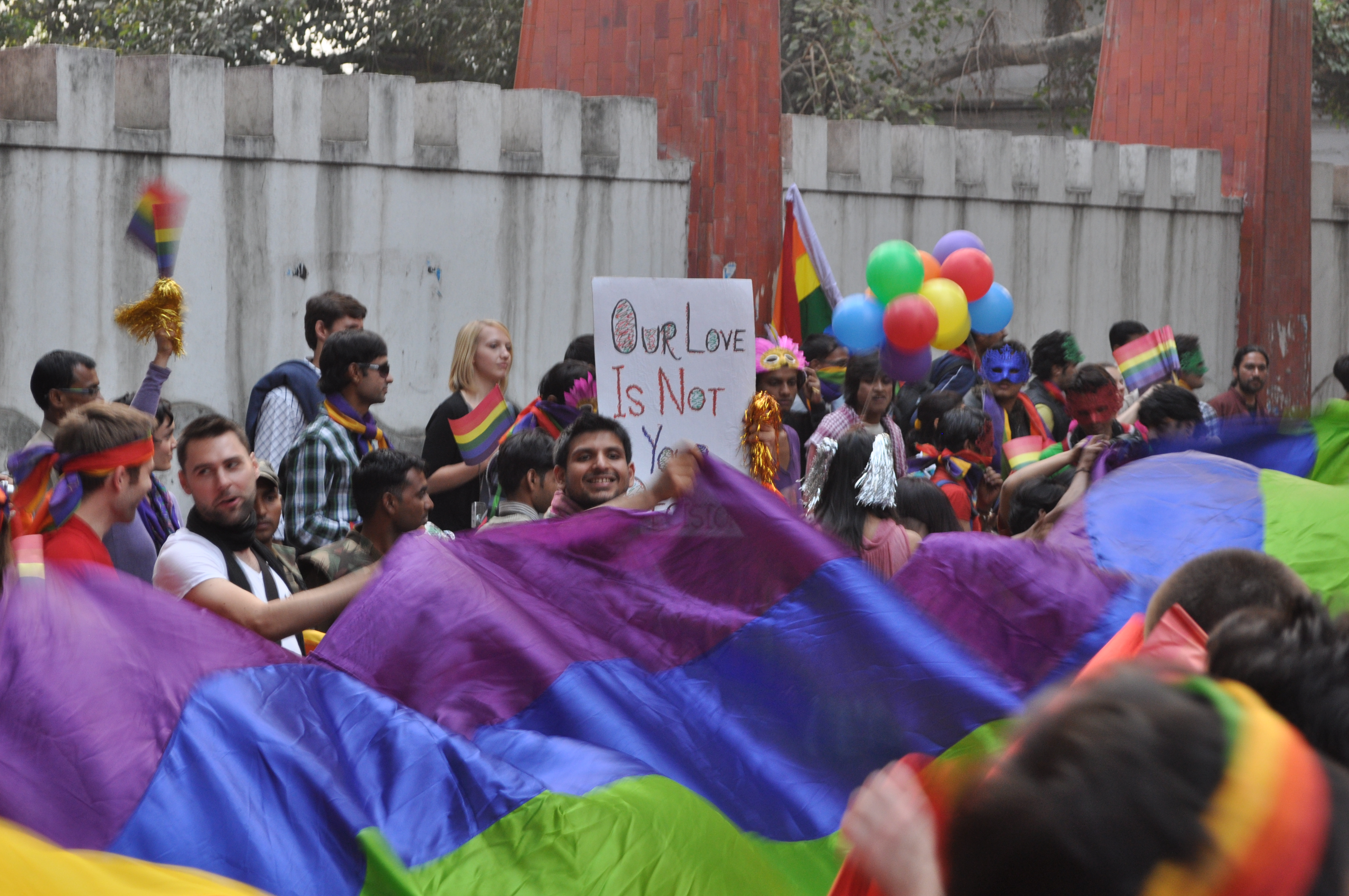 """lgbt political struggles for acceptance It is very much thanks to the feminist and lgbt struggles, which insist that private is political, that nowadays the understanding of politics is wider and more inclusive finally, the paper could be summarized under the heading """"sexual citizenship""""."""