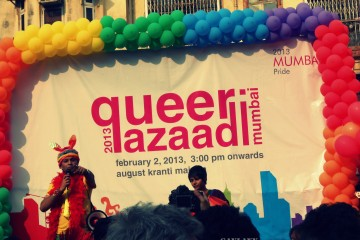 gay pride march in Mumbai India