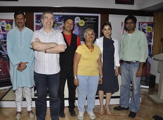 Simone Singh, Quasar ThakorePadamsee, Manavendra Singh Gohil, Roy Wadia, Sridhar Rangayan announce India's biggest LGBT film fest