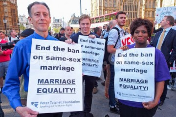 House of Lords passes gay marriage