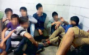 Juvenile abuse by Delhi Police