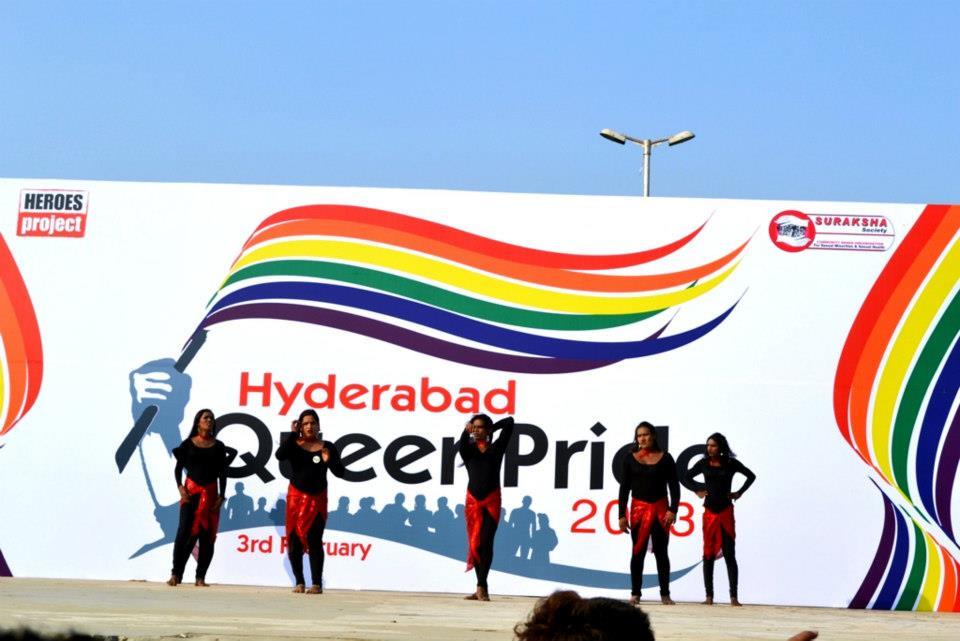 gay pride march hyderabad