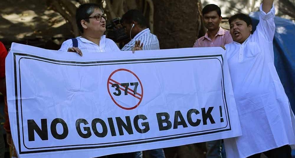 Sec 377 Protest