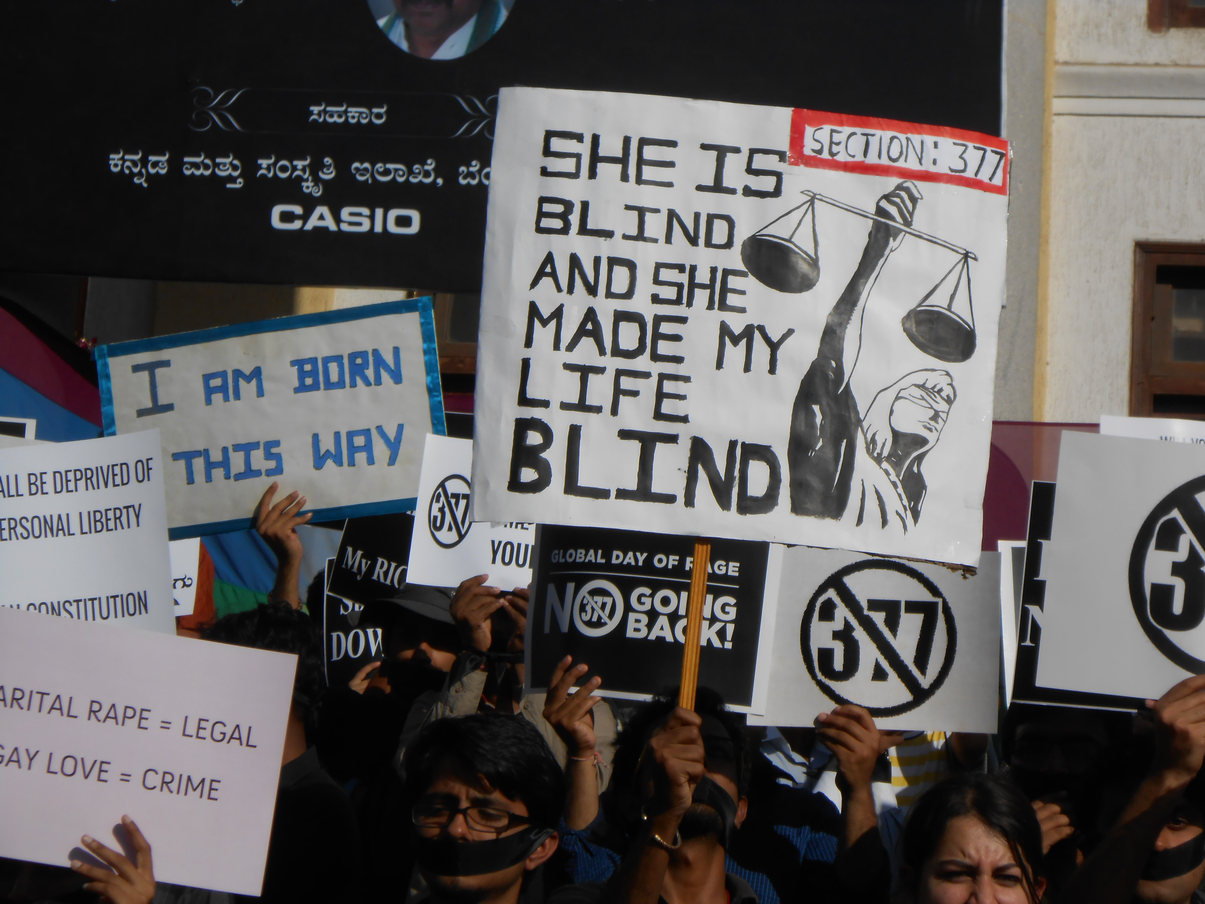 Sec 377 re criminalises homosexuality in India