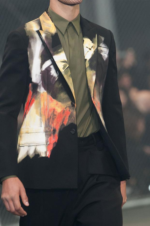 Givenchy shaeded suit