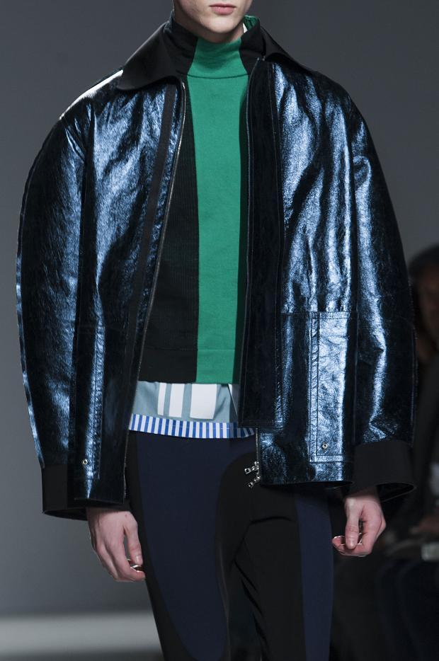 Leather jacket by john galliano