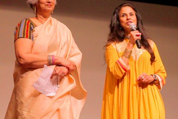 Ms.Shobhaa De and Prof.Nandini Sardesai at Best of KASHISH at NCPA