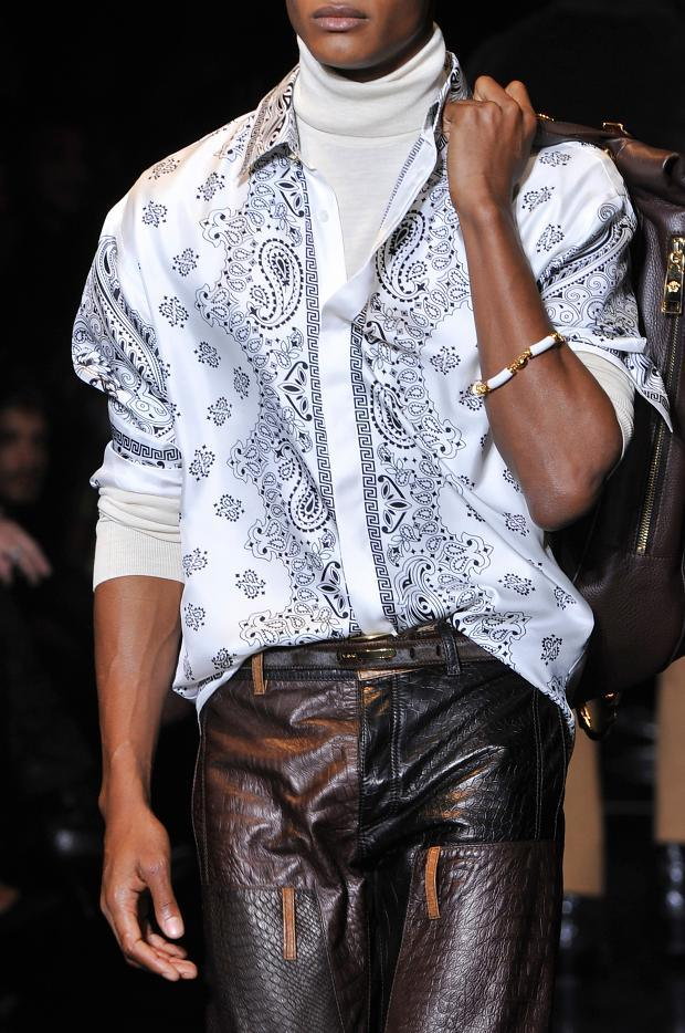Versace Polo Neck