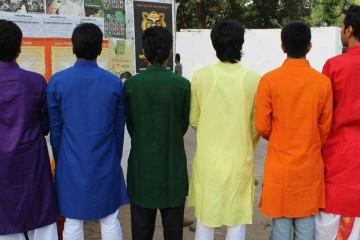 मुझे रंग दे बेमिसाल: नील, नीला, हरा, पीला, नारंगी, लाल! छाया: रूपबान।