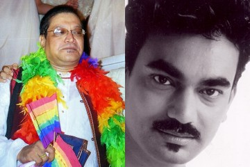 Kashish Rainbow Warrior Awardees Ashok Row Kavi and Wendell Rodricks