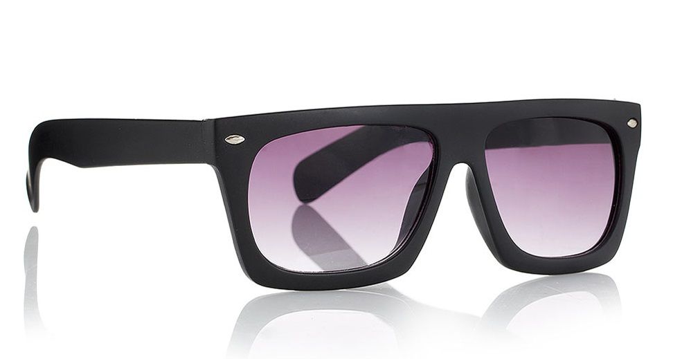 Jeeper Peeper Rectangular Glasses at TOPMAN