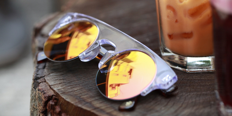 Limited Edition Classic Round shape Sunglasses by Shanghai Tang