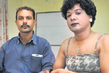 Shadab and Sanjana, who are getting married soon, in Bhopal. (Gagan Nayar/HT Photo)