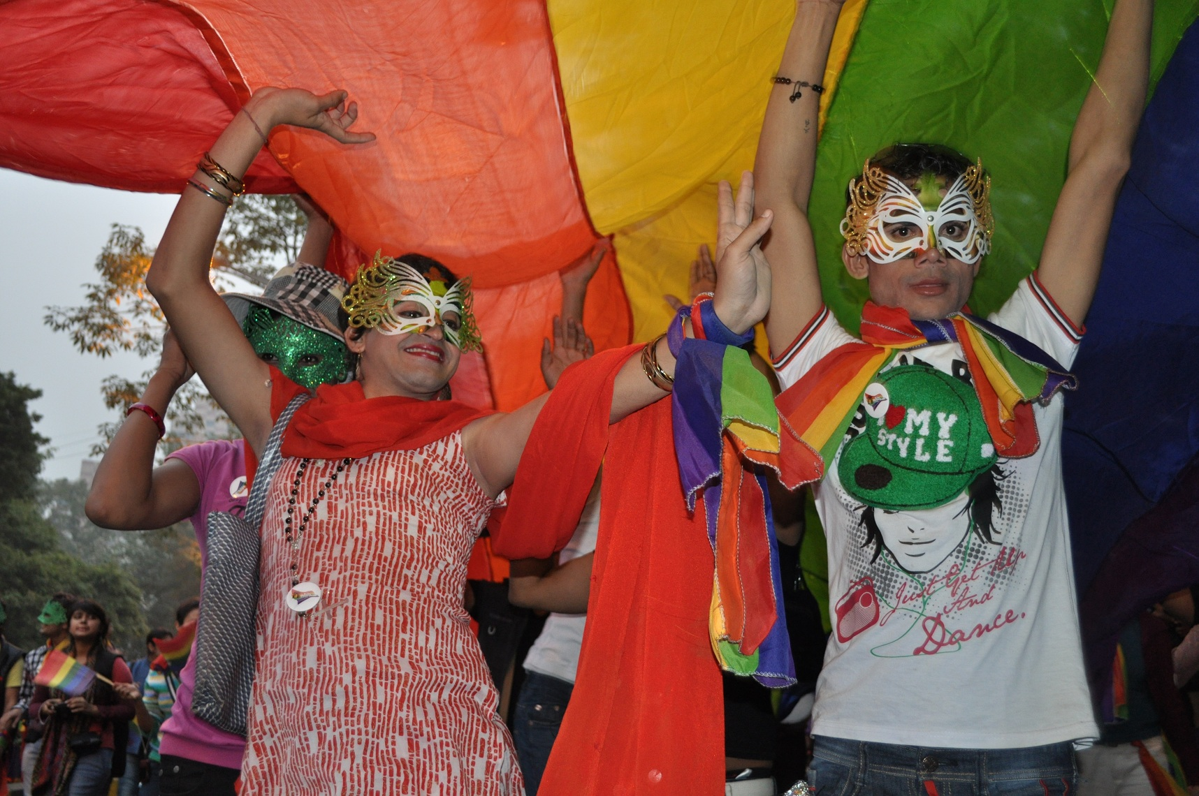 Delhi Queer Pride 2011 (Photo by: Shiv Sahoo)