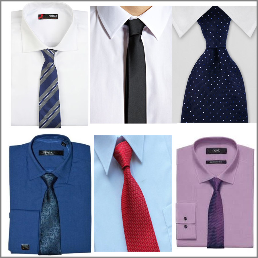 how to choose a shirt and tie for a suit