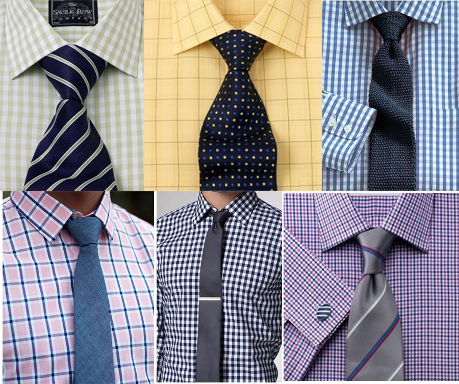Guide for Men's Shirt - Tie Combination