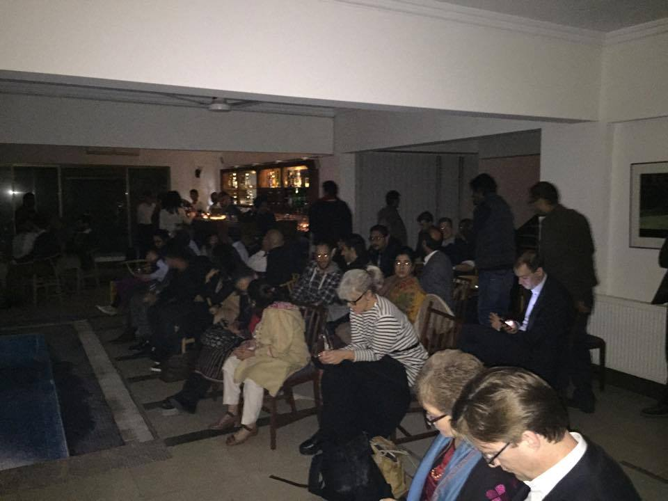 A packed screening in Islamabad
