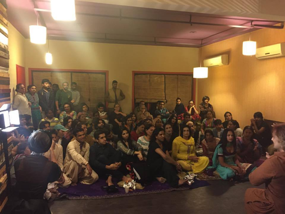 Transgender community came out in huge numbers for the Film Festival in Lahore