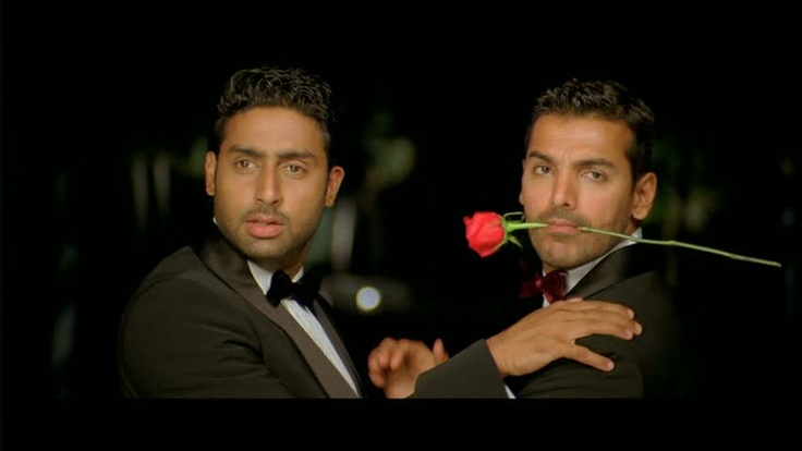 A still from the movie Dostana