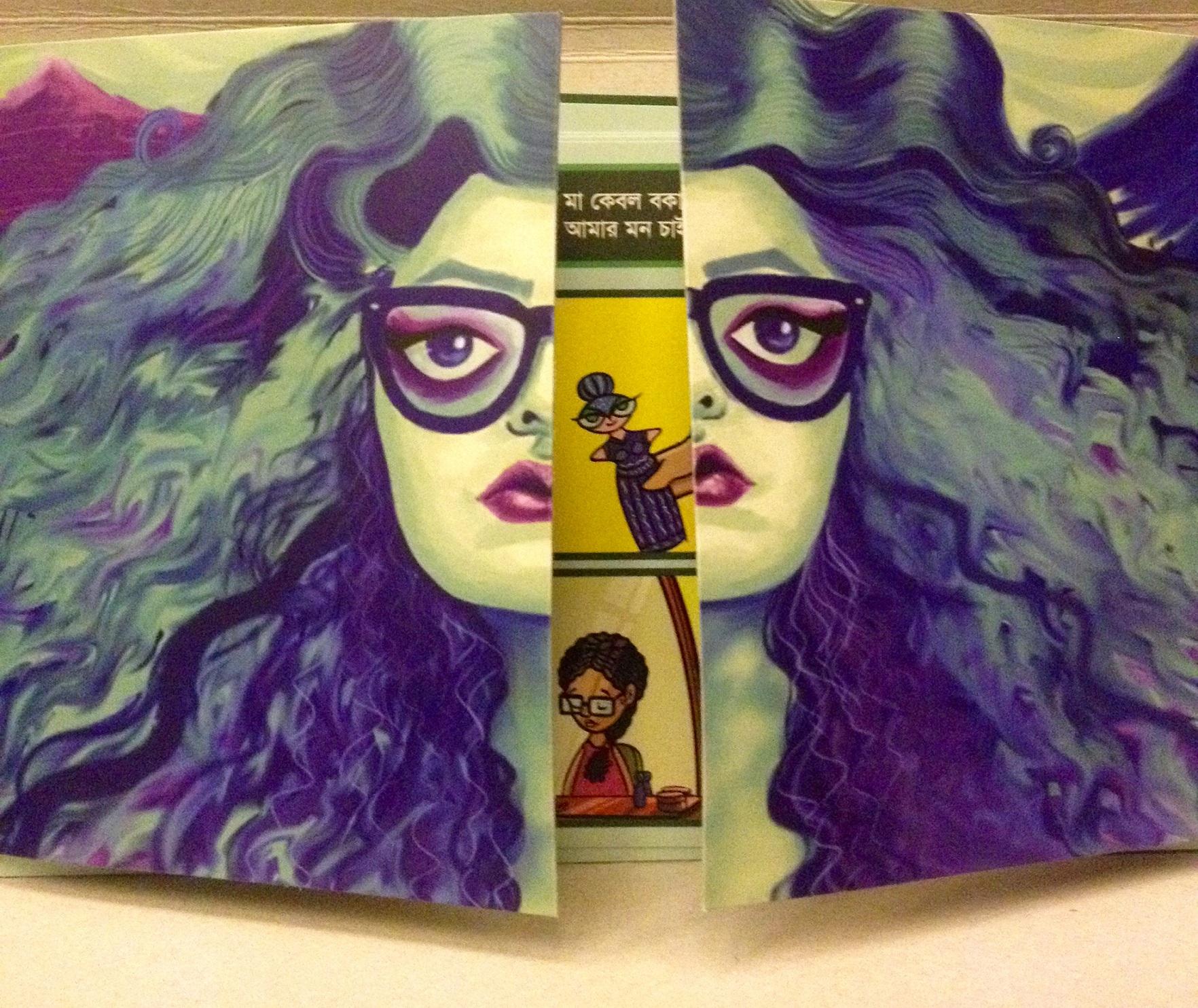 Bangladesh Lesbian comic dhee