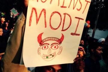 gay, India, Protest against Modi