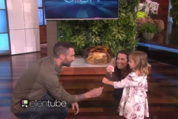 Adam Levine on The Ellen Show