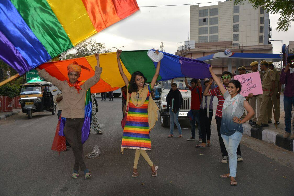 Picture courtesy: Queer Gulabi Pride Organisers