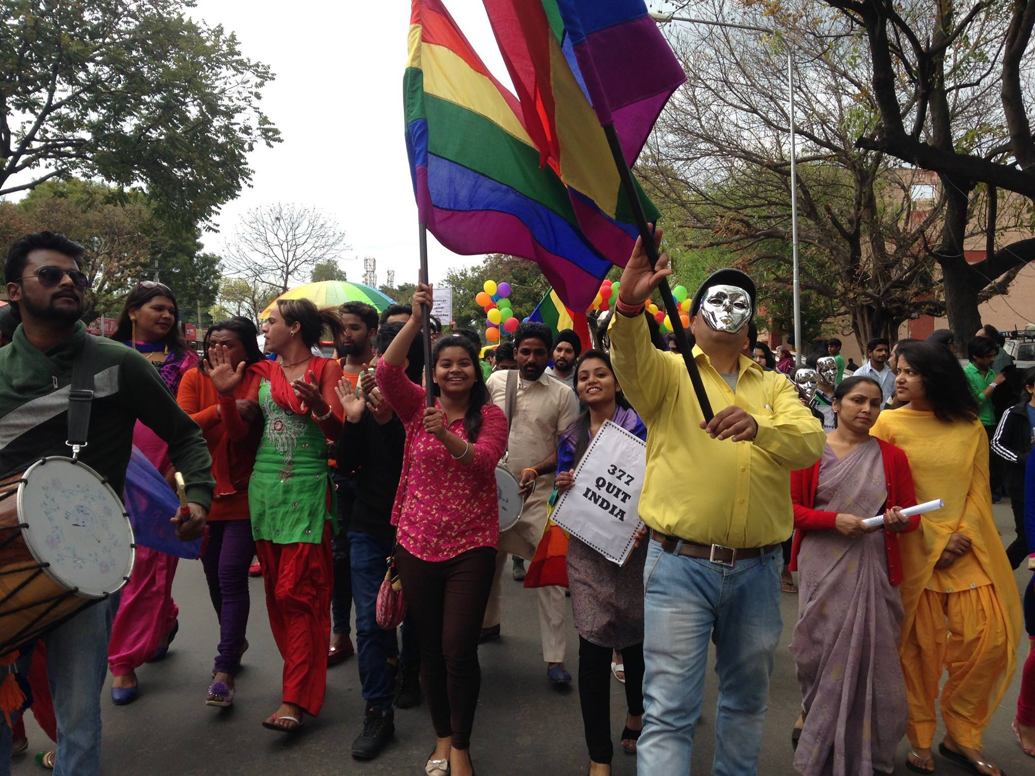 Chandigarh Pride walk 2016
