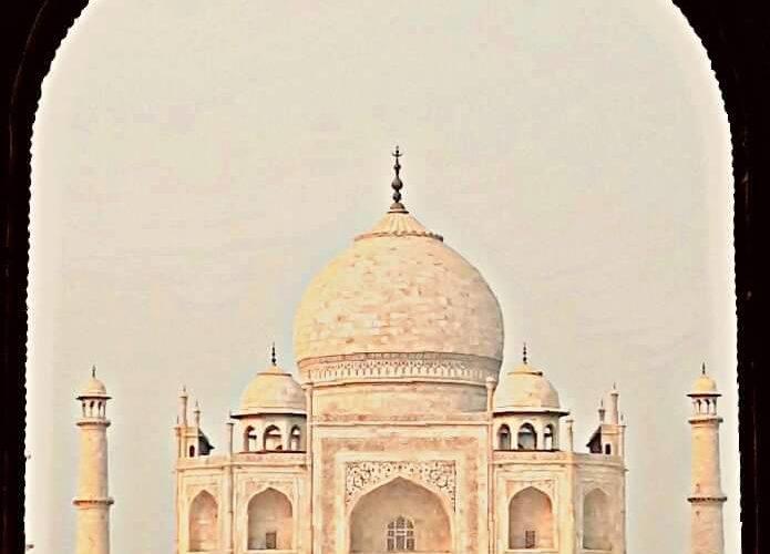 ताज महल - एक लघुकथा | छाया: कार्तिक शर्मा | सौजन्य: QGraphy