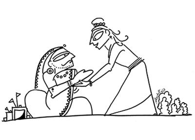 devdutt pattanaik, illustration