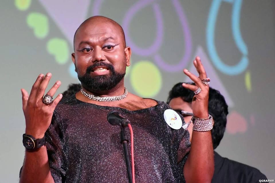 Vinodh Philip, Founder Member, Rainbow Voices Mumbai. Image courtesy: QGraphy
