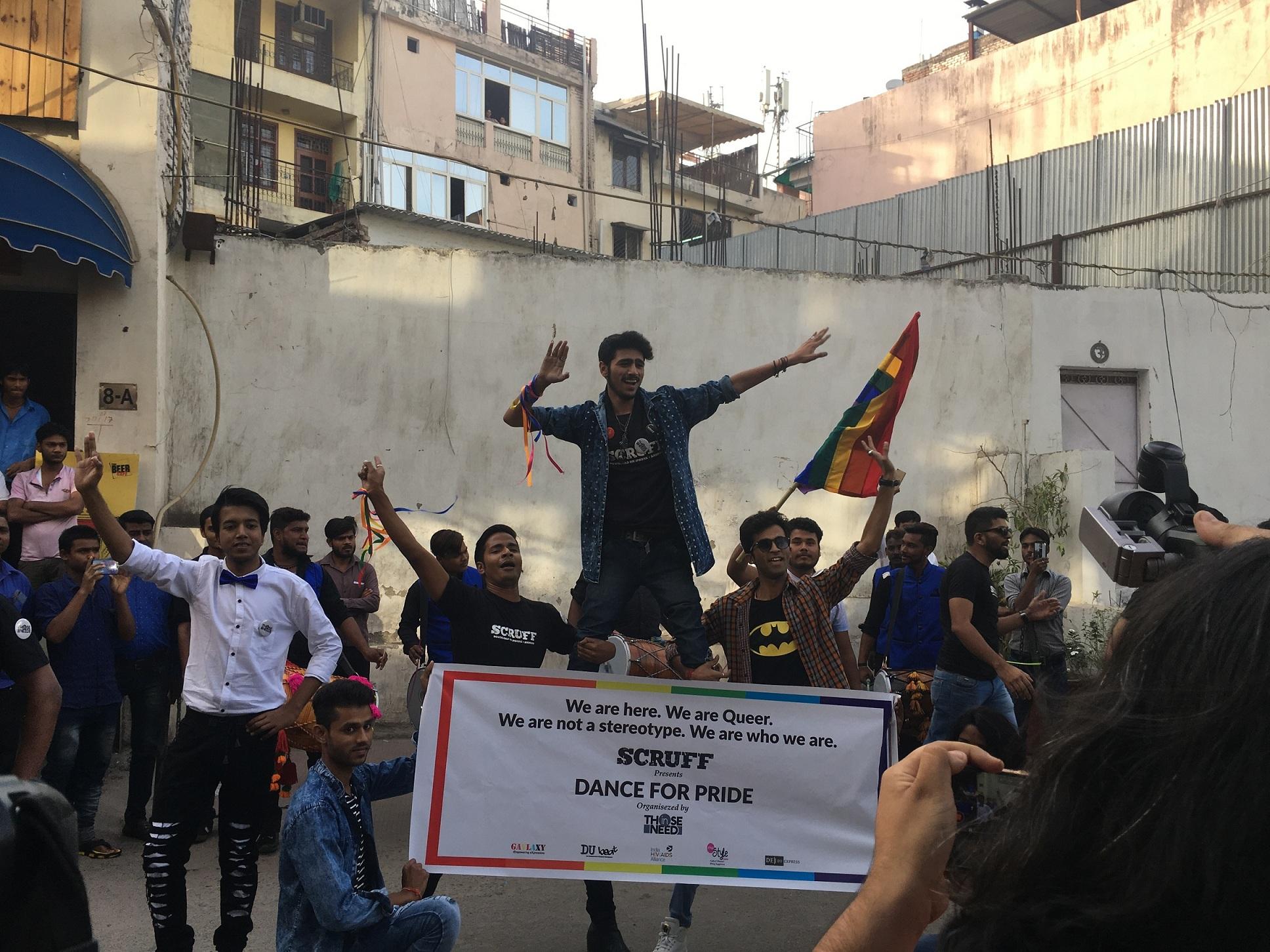 Flashmob En Delhi Gay