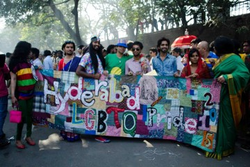 telangana and hyderabad pride 2015 by Sasanjeev sampath