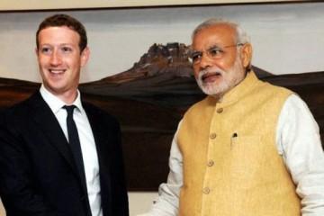 modi, facebook, zuckerberg